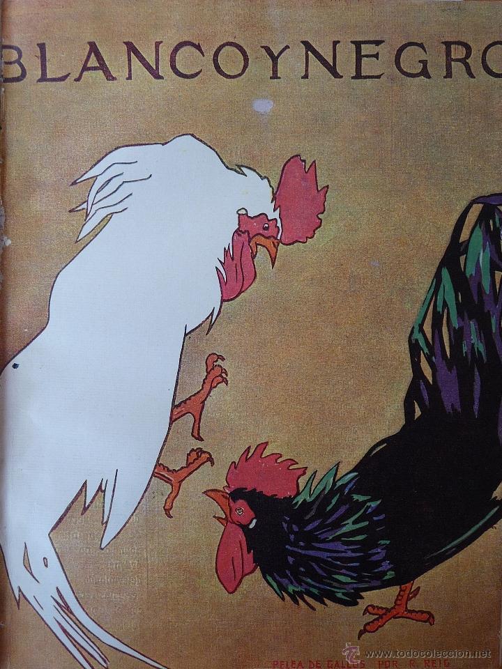 Coleccionismo de Revistas y Periódicos: REVISTA BLANCO Y NEGRO 1922 - Foto 4 - 40750965
