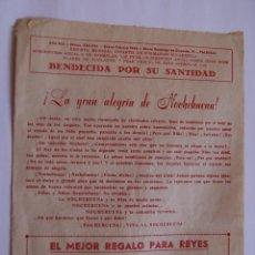 Coleccionismo de Revistas y Periódicos: REVISTA MENSUAL INFALTIL DE FORMACIÓN EUCARISTICA Nº335 - 336 AÑO ENERO - FEBRERO 1956 - 1,4 PESETAS. Lote 40773440