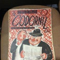 Coleccionismo de Revistas y Periódicos: REVISTA LA CODORNIZ .5 DE AGOSTO DE 1956. AÑO XVI. Nº 768.. Lote 40780129