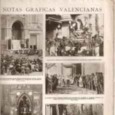 Coleccionismo de Revistas y Periódicos: 1923 MURCIA AGUAS VALENCIA MILAGROS VICENTE FERRER MONDOÑEDO ANIS DEL MONO AVIACION MILITAR SEVILLA. Lote 40800113