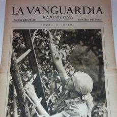 Collezionismo di Riviste e Giornali: ESTAMPAS DE ALEMANIA, RECOLECCION MANZANA. DEPORTACIONES A VILLA CISNEROS. ANIVERSARIO BATALLA MARNE. Lote 40804470