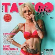 Coleccionismo de Revistas y Periódicos: TATTOO LIFE N. 63 (NUEVA). Lote 40834509