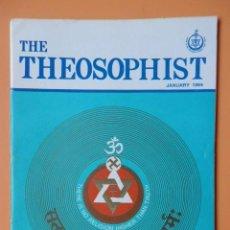 Coleccionismo de Revistas y Periódicos: THE THEOSOPHIST. JANUARY 1994 - DIVERSOS AUTORES. Lote 40868665