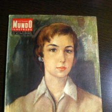 Coleccionismo de Revistas y Periódicos: GRAN MUNDO ILUSTRADO. REVISTA SEMANAL DE ACTUALIDADES. NÚM. 209 19 DE ABRIL DE 1958. Lote 40881565