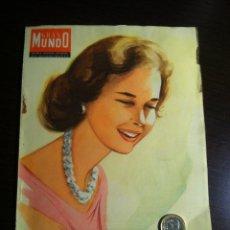 Coleccionismo de Revistas y Periódicos: GRAN MUNDO ILUSTRADO. REVISTA SEMANAL DE ACTUALIDADES. NÚM. 210 26 DE ABRIL DE 1958. Lote 40881753