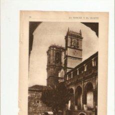Coleccionismo de Revistas y Periódicos: AÑOS 30 RECORTE PRENSA PLAZA DE ALCARAZ LA MANCHA ALBACETE ALCARAZ. Lote 40949129
