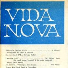 Coleccionismo de Revistas y Periódicos: VIDA NOVA - N. 63 - ABRIL 1975. Lote 40951724
