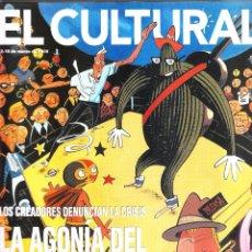Coleccionismo de Revistas y Periódicos: EL CULTURAL LA AGONÍA DEL COMIC ESPAÑOL 12-18 MARZO DE 2000. Lote 40955382