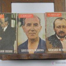Coleccionismo de Revistas y Periódicos: 4177- LA HORA XXV. AL SERVICIO DEL MEDICO. PUBLICACION MENSUAL. LOTE DE 62 NUMEROS. AÑOS . Lote 40981046