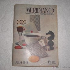 Coleccionismo de Revistas y Periódicos: MERIDIANO 1949 SINTESIS DE LA PRENSA MUNDIAL. Lote 40999789