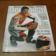 Coleccionismo de Revistas y Periódicos: REV. 10/1999 DOMINICAL.- ALEX CRIVILLÉ GRAN RPTGE.PACO RABAL, JENNIFER JASON,CHER -ALBUM-PICASSO. Lote 41016949