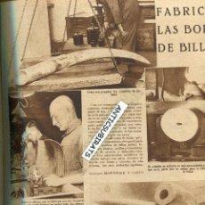 Coleccionismo de Revistas y Periódicos: REVISTA 1934 ORFEON PAMPLONES GAYARRE FABRICA D BOLAS DE BILLAR MARFIL PLATANOS PLATANO DE CANARIAS. Lote 128588943
