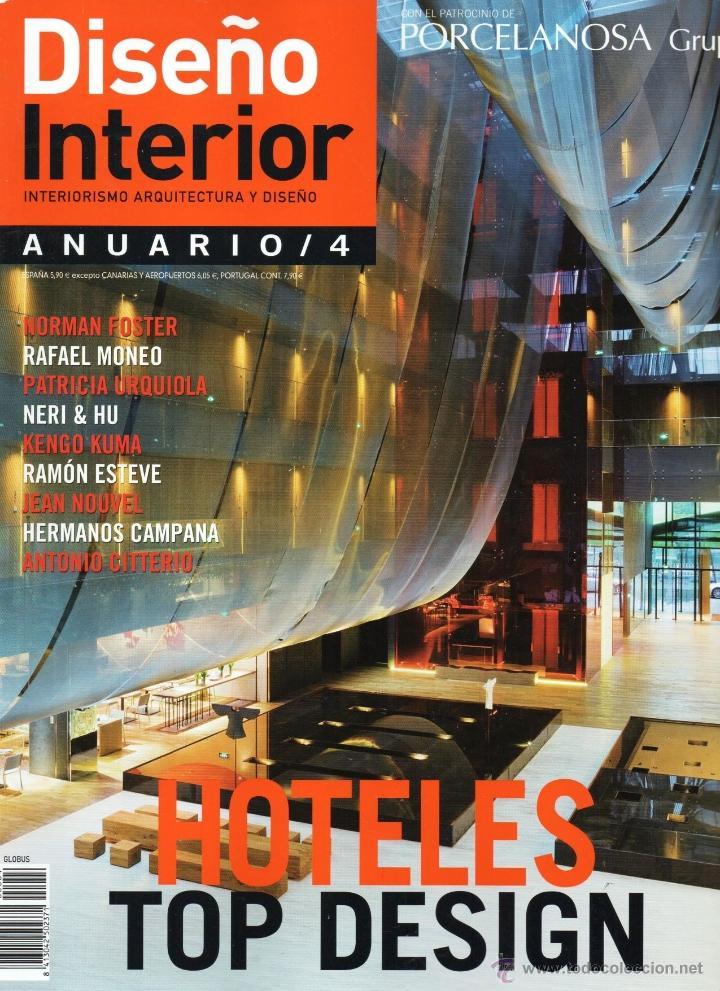 diseo interior anuario n 4 en portada hoteles top design nueva - Revistas De Diseo De Interiores