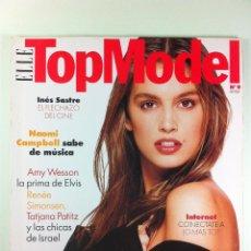 Coleccionismo de Revistas y Periódicos: REVISTA ELLE TOP MODEL CINDY CRAWFORD Nº9 (AÑOS 90). Lote 42556765