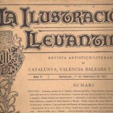 Coleccionismo de Revistas y Periódicos: LA ILUSTRACIÓ LLEVANTINA - 1 DE DESEMBRE DE 1901- ANY II - Nº 27 . Lote 41087048
