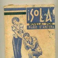 Coleccionismo de Revistas y Periódicos: SOLA Nº 20 - MARIO D'ANCONA - ED. GUERRI. Lote 41110506