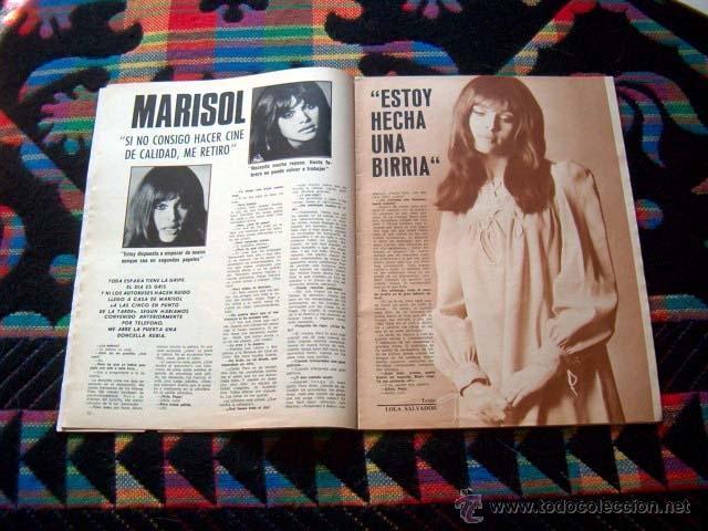Coleccionismo de Revistas y Periódicos: Revista FOTOGRAMAS 1969 / MARISOL, PEPA FLORES, CLAUDIA CARDINALE, GENEVIEVE BUJOLD, FRANK SINATRA - Foto 2 - 41121098