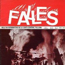 Coleccionismo de Revistas y Periódicos: REVISTA FALLERA , FALLES Nº 3-4-5 , 1973 , NO TIENE BOCETOS ,FALLAS VALENCIA , ORIGINAL ,F1357B. Lote 41215445