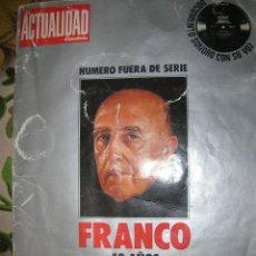 Coleccionismo de Revistas y Periódicos: REVISTA LA ACTUALIDAD ESPAÑOLA. FRANCO 49 AÑOS DE LA HISTORIA DE ESPAÑA. Lote 41339919