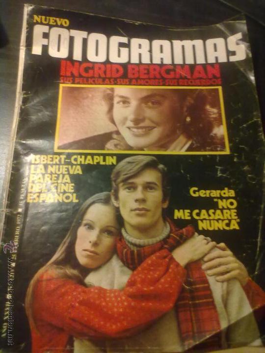 REVISTA FOTOGRAMAS Nº1219 (Coleccionismo - Revistas y Periódicos Modernos (a partir de 1.940) - Otros)