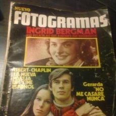 Coleccionismo de Revistas y Periódicos: REVISTA FOTOGRAMAS Nº1219. Lote 39821331