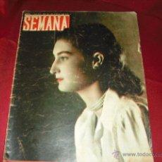 Coleccionismo de Revistas y Periódicos: REVISTA SEMANA JUNIO 1949. Lote 41414778