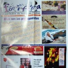 Coleccionismo de Revistas y Periódicos: ALICANTE PERIODICO FOC I FESTA, 2008 HOGUERAS POSTER BELLEZAS 2007-VER FOTO ADICIONAL. Lote 41447613
