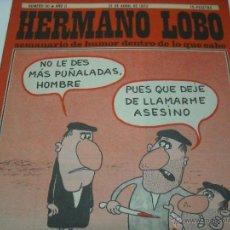 Coleccionismo de Revistas y Periódicos: HERMANO LOBO. Lote 41507635