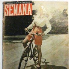 Coleccionismo de Revistas y Periódicos: SEMANA - REVISTA Nº 425. Lote 41509340