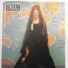 Coleccionismo de Revistas y Periódicos: ONDAS - REVISTA Nº 107 - MAYO 1957. Lote 41529869