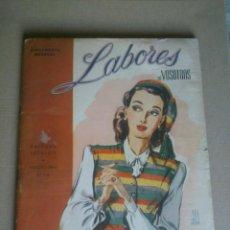 Coleccionismo de Revistas y Periódicos: SUPLEMENTO MENSUAL DE VOSOTRAS.DOS SECCIONES.Nº118.AÑO;1945.CONTIENE PATRONES Y PUBLICIDAD. Lote 41534917