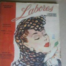 Coleccionismo de Revistas y Periódicos: SUPLEMENTO MENSUAL DE VOSOTRAS.DOS SECCIONES.Nº126.AÑO;1946.CONTIENE PATRONES Y PUBLICIDAD. Lote 41534931