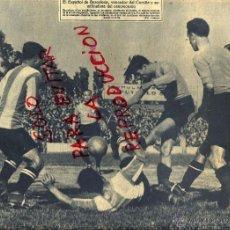Colecionismo de Revistas e Jornais: FUTBOL 1932 ESPAÑOL-CORUÑA HOJA REVISTA. Lote 41578001