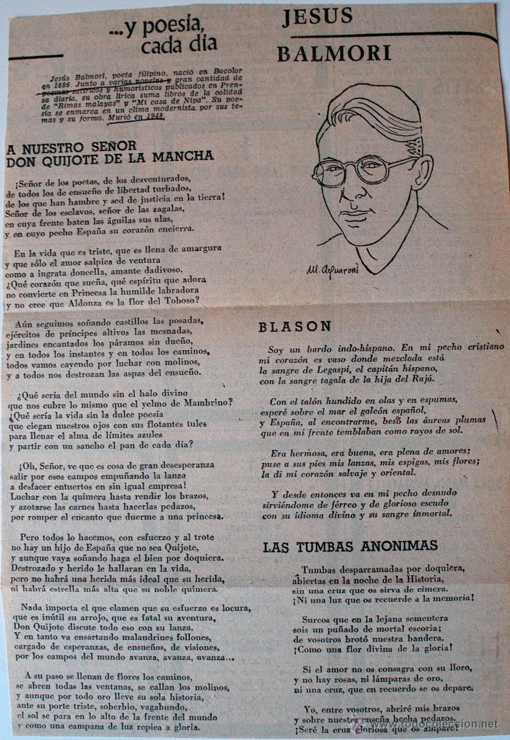 recorte de prensa original de los años 70. poes - Comprar Otras ...