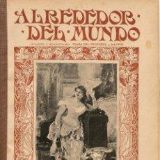 Coleccionismo de Revistas y Periódicos: REVISTA ALREDEDOR DEL MUNDO Nº 227 - 1903 * PERIÓDICOS MADRILEÑOS ANTIGUOS * AUTOMOVILISMO MILITAR *. Lote 24284725