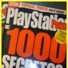 Coleccionismo de Revistas y Periódicos: REVISTA PLAYSTATION POWER NÚMERO EXTRA, 1000 SECRETOS (SUPLEMENTO DEL Nº 12) C1998. Lote 41668336