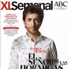 Coleccionismo de Revistas y Periódicos: REVISTA XL SEMANAL. PABLO MOTOS, 2013. Lote 41671432