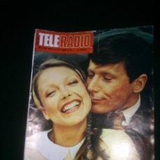 Coleccionismo de Revistas y Periódicos: REVISTA TELERADIO.HOMBRE RICO HOMBRE POBRE SEMANAL DE TVE- RNE. Nº1014..AÑO;1977.. Lote 41679295
