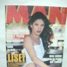 Coleccionismo de Revistas y Periódicos: REVISTA MAN Nº 82 LISET. YVONNE REYES. MICHELLE PFEIFFER QUENTIN TARANTINO MARISA BERENSON. Lote 41715711