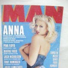 Coleccionismo de Revistas y Periódicos: REVISTA MAN Nº 80 ANNA NICOLE SMITH BEATRIZ RICO MATHILDA MAY PINK FLOID. Lote 41717184