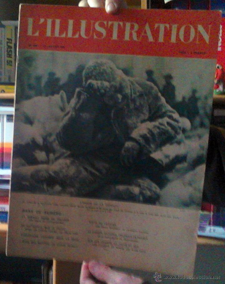 REVISTA L'ILLUSTRATION 27 DE ENERO 1940. NOTICIAS 2º GUERRA MUNDIAL (Coleccionismo - Revistas y Periódicos Modernos (a partir de 1.940) - Otros)