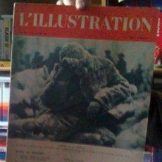 Coleccionismo de Revistas y Periódicos: REVISTA L'ILLUSTRATION 27 DE ENERO 1940. NOTICIAS 2º GUERRA MUNDIAL. Lote 41726007