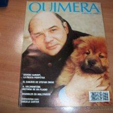 Coleccionismo de Revistas y Periódicos: QUIMERA. REVISTA DE LITERATURA. Lote 41742343