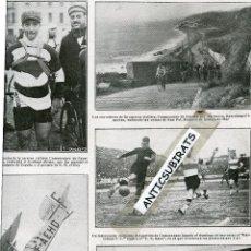 Coleccionismo de Revistas y Periódicos: REVISTA AÑO 1923 RENAULT LA PESCA DE LA BALLENA ARENYS DE MAR F.C. BARCELONA TALAVERA DE LA REINA . Lote 41752727