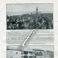 Coleccionismo de Revistas y Periódicos: REVISTA AÑO 1910 SANTO DOMINGO DE LA CALZADA GUARDAMAR LUMBRALES CIUDAD RODRIGO . Lote 41753452