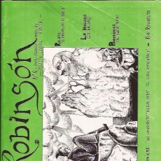 Coleccionismo de Revistas y Periódicos: FANZINE-ROBINSON Nº 4 ENERO MARZO 1984 REVISTA JUVENIL RADICAL-MADRID. Lote 41754062