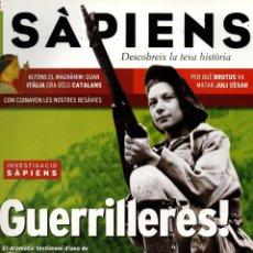 Coleccionismo de Revistas y Periódicos: REVISTA SÀPIENS, Nº23, SETEMBRE 2004. GUERRILLERES! MARÍA RODRÍGUEZ, UNA DE LES ÚLTIMES MAQUIS VIVES. Lote 41757550