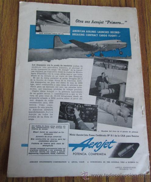 Coleccionismo de Revistas y Periódicos: Revista - SKYWAYS - edicion en español - marzo 1948 - Foto 2 - 41811149