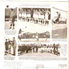 Coleccionismo de Revistas y Periódicos: AÑO 1922 RECORTE PRENSA FUTBOL ATLETICO MADRID FUSS-BALL WACKER MUNICH PASTA DENS TUBO PUBLICIDAD. Lote 41913197