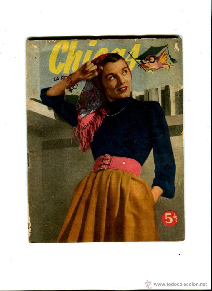 CHICAS LA REVISTA DE LOS 17 AÑOS Nº 223 AÑO 1954 (Coleccionismo - Revistas y Periódicos Modernos (a partir de 1.940) - Otros)